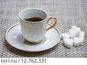 Купить «Чашка утреннего кофе», фото № 12762331, снято 16 сентября 2015 г. (c) Алёшина Оксана / Фотобанк Лори