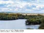 Река Исеть, окрестности города Шадринска, Курганская область, фото № 12768939, снято 12 сентября 2015 г. (c) Александр  Буторин / Фотобанк Лори