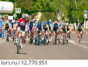 Велогонка (2015 год). Редакционное фото, фотограф Кирилл Логвинов / Фотобанк Лори