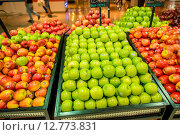 Купить «Dubai - JANUARY 7, 2014: Dubai Supermarket Waitrose on January 7», фото № 12773831, снято 7 января 2014 г. (c) Elnur / Фотобанк Лори
