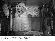 Купить «Ghost in a room», фото № 12776567, снято 27 сентября 2015 г. (c) Art Konovalov / Фотобанк Лори