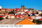 General view of spanish town. Astorga. Стоковое фото, фотограф Яков Филимонов / Фотобанк Лори