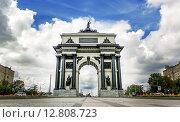 Триумфальная Арка в Москве. Редакционное фото, фотограф Валерия Чмиль / Фотобанк Лори
