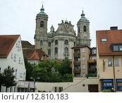 Старый замок возле города Фридрихсхафен (2008 год). Редакционное фото, фотограф Anna Berglef / Фотобанк Лори