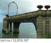 Фридрихсхафен, мост (2008 год). Стоковое фото, фотограф Anna Berglef / Фотобанк Лори