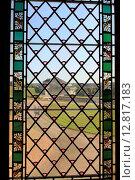 Купить «Вид через окно замка Шенонсо. Франция», фото № 12817183, снято 19 сентября 2019 г. (c) Владимир Григорьев / Фотобанк Лори