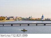 Чебоксары. Вид на залив. (2015 год). Редакционное фото, фотограф Юрий Прокопьев / Фотобанк Лори