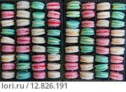 Разноцветные макарони. Стоковое фото, фотограф Елена Поминова / Фотобанк Лори