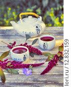 Китайский фарфоровый чайный сервиз (2015 год). Редакционное фото, фотограф Петрова Инна / Фотобанк Лори
