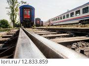 Купить «Railway Tracks Near Haydarpasa», фото № 12833859, снято 21 октября 2018 г. (c) PantherMedia / Фотобанк Лори