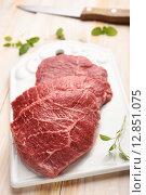 Купить «Marbled beef», фото № 12851075, снято 16 июня 2015 г. (c) Stockphoto / Фотобанк Лори