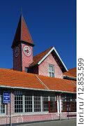 Купить «Почтовое отделение в городе Нувара Элия. Шри-Ланка», фото № 12853599, снято 17 марта 2015 г. (c) Михаил Коханчиков / Фотобанк Лори
