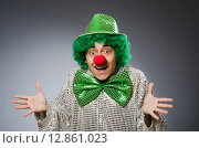 Купить «Funny person in saint patrick holiday concept», фото № 12861023, снято 25 февраля 2015 г. (c) Elnur / Фотобанк Лори