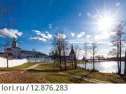 Купить «Валдай, Иверский монастырь», фото № 12876283, снято 30 апреля 2015 г. (c) Донцов Евгений Викторович / Фотобанк Лори