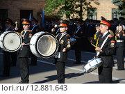 Купить «Воспитанники Московского кадетского корпуса полиции», фото № 12881643, снято 6 сентября 2014 г. (c) Free Wind / Фотобанк Лори