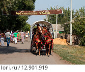Дорога на праздник (2015 год). Редакционное фото, фотограф Валентин Родоманов / Фотобанк Лори