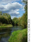 Река. Стоковое фото, фотограф Самоделко Валентин / Фотобанк Лори