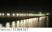 Ночной город Пенза. Стоковое фото, фотограф Самоделко Валентин / Фотобанк Лори