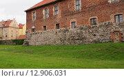 Купить «Teutonic castle in Sztum, Poland», видеоролик № 12906031, снято 15 октября 2015 г. (c) BestPhotoStudio / Фотобанк Лори