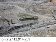 Медно-молибденовая шахта. Стоковое фото, фотограф Фёдор Мешков / Фотобанк Лори