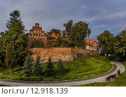 Купить «Teutonic castle in Sztum, Poland», фото № 12918139, снято 13 сентября 2015 г. (c) BestPhotoStudio / Фотобанк Лори