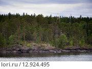 Церковь в лесу на острове Валаам. Стоковое фото, фотограф Сорокин Андрей / Фотобанк Лори
