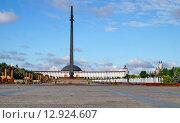 Купить «Парк Победы на Поклонной горе. Москва», фото № 12924607, снято 22 июля 2015 г. (c) Татьяна Федулова / Фотобанк Лори