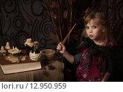 Купить «Маленькая ведьма», фото № 12950959, снято 1 ноября 2014 г. (c) Останина Екатерина / Фотобанк Лори