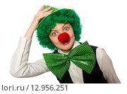 Funny person in saint patrick holiday concept. Стоковое фото, фотограф Elnur / Фотобанк Лори