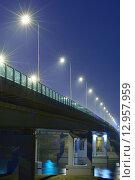 Мост через реку Дон, Аксайский мост, Ростов-на-Дону (2015 год). Редакционное фото, фотограф Станислав Самойлик / Фотобанк Лори