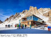 Кафе на горнолыжном курорте, фото № 12958271, снято 31 января 2015 г. (c) Донцов Евгений Викторович / Фотобанк Лори