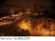 Ночной Минск (2015 год). Стоковое фото, фотограф Игорь Буранок / Фотобанк Лори