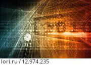 Купить «Telecommunications Network», фото № 12974235, снято 17 июля 2019 г. (c) PantherMedia / Фотобанк Лори