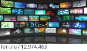 Купить «Video Screens Abstract», фото № 12974463, снято 18 января 2019 г. (c) PantherMedia / Фотобанк Лори