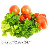 Купить «Натюрморт из свежих овощей», фото № 12987247, снято 16 октября 2015 г. (c) Алексей Ларионов / Фотобанк Лори