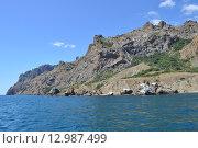 Крым, гора Карадаг (2015 год). Стоковое фото, фотограф Игорь Разумов / Фотобанк Лори
