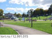 Парк отдыха на Каме. Чистополь (2015 год). Редакционное фото, фотограф Сергей Кожин / Фотобанк Лори