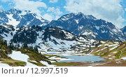 Alpine mountain panorama (Vorarlberg,Austria) Стоковое фото, фотограф Юрий Брыкайло / Фотобанк Лори