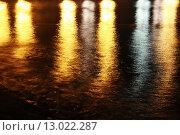 Ночная водная гладь. Стоковое фото, фотограф Кристина Саркисян / Фотобанк Лори
