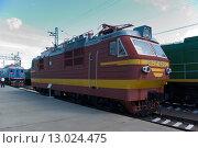 Электровоз ВЛ40с,Новосибирский музей железнодорожной техники (2011 год). Редакционное фото, фотограф Василий Бронников / Фотобанк Лори
