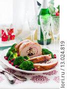 Купить «Рождественская индейка», фото № 13024819, снято 6 ноября 2015 г. (c) Татьяна Ворона / Фотобанк Лори