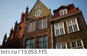 Купить «Long Market in Gdansk, Poland», видеоролик № 13053115, снято 20 октября 2015 г. (c) BestPhotoStudio / Фотобанк Лори