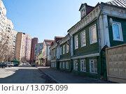 Москва, 2-й Крутицкий переулок (2013 год). Стоковое фото, фотограф Сергей Дрозд / Фотобанк Лори