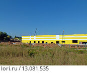 Метродепо Солнцево (стройка), фото № 13081535, снято 12 августа 2015 г. (c) ДЕНЩИКОВ Александр Витальевич / Фотобанк Лори