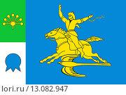 Купить «Флаг города Салават. Башкирия», иллюстрация № 13082947 (c) Владимир Макеев / Фотобанк Лори