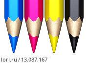 Купить «color pencils», фото № 13087167, снято 26 мая 2020 г. (c) PantherMedia / Фотобанк Лори