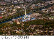 Купить «trash mull incinerator refuse aerial», фото № 13093915, снято 25 апреля 2019 г. (c) PantherMedia / Фотобанк Лори