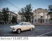 Волга, газ, 21, выпуска, 1962, года, (2014 год). Редакционное фото, фотограф дмитрий толмачев / Фотобанк Лори