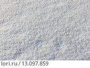 Купить «Снег. Фон», фото № 13097859, снято 7 января 2015 г. (c) Оксана Гильман / Фотобанк Лори