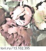 Купить «art floral vintage background with pink peonies in pastels colors», фото № 13102395, снято 15 апреля 2014 г. (c) Ingram Publishing / Фотобанк Лори